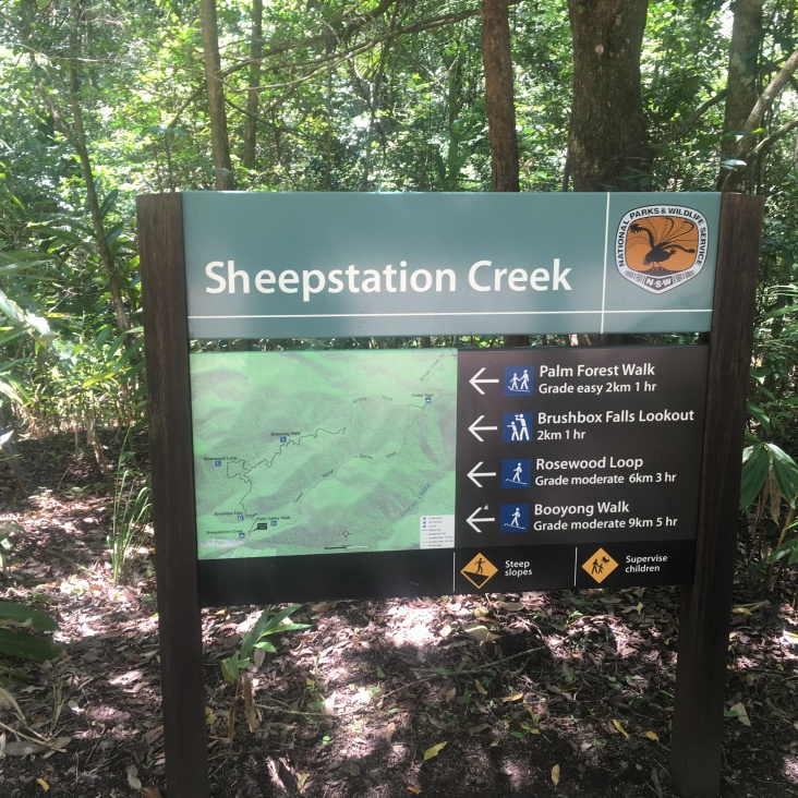Sheepstation Creek Information