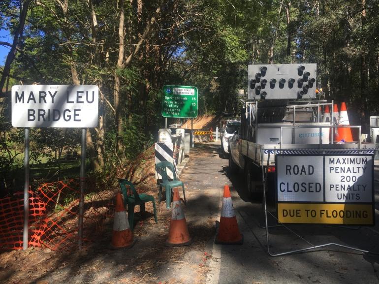 springbrook-road-closure-mary-leu-bridge
