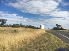 Grain silos in Dulluca, QLD