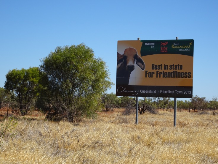 Cloncurry Friendliest Town