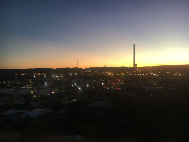 Mount Isa City Lookout Sunset