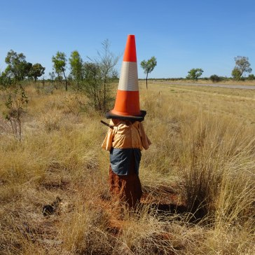 Decorated Termite Mound - Tradie
