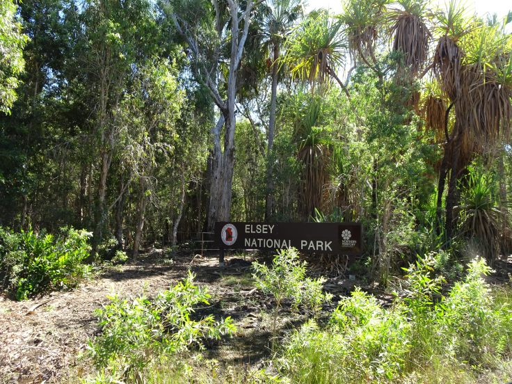 Elsey National Park - Entrance